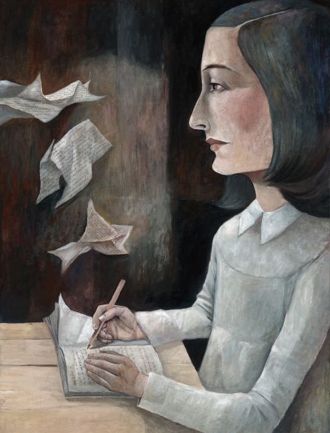 Anne Frank / © Illustration Michael Hahn