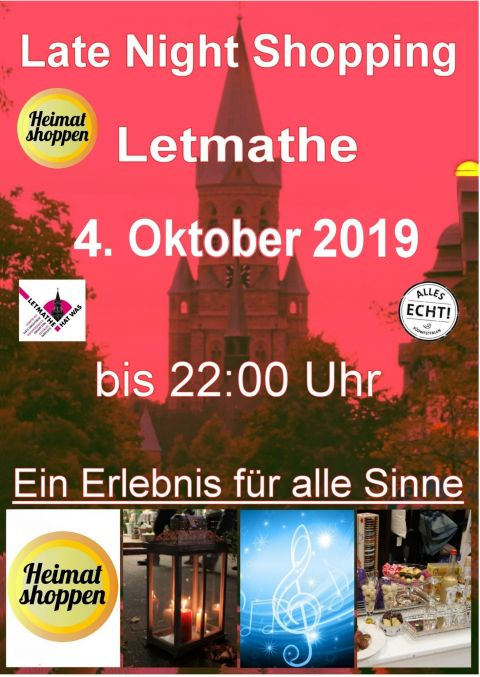 Shoppen in Letmathe