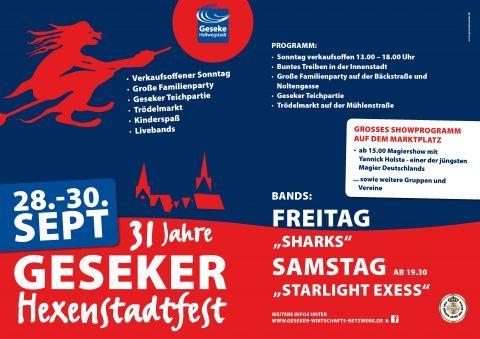 Plakat Hexenstadtfest 2018